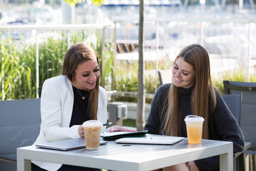 Coffee Meeting, Entrepreneur